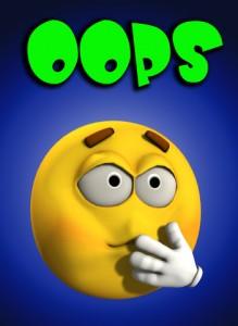 Ostomy oops
